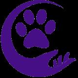 dog logo clear